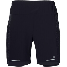 "asics 2-N-1 7"" Shorts Men Performance Black/Performance Black"